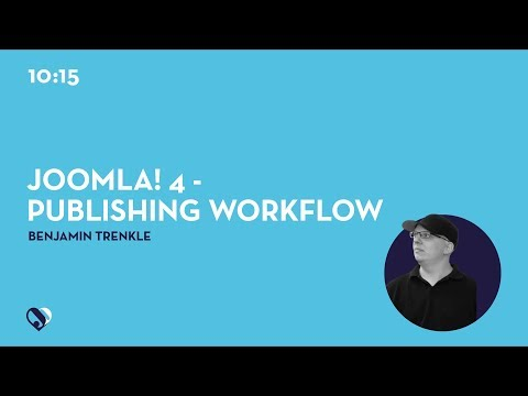 JD19DE - Joomla! 4 - Publishing Workflow