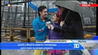 Juan D y Beatriz de Ciudad Arcoiris en: Buenos Días Madrid