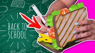 DIY Сквиши блокнот / МЕГА сэндвич / канцелярия СВОИМИ РУКАМИ / Back to school 🐞 Afinka