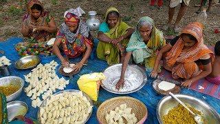 Potato Samosa ( Aloo Singara ) - Most Popular & Tasty Snacks Of Bengali Village Peoples