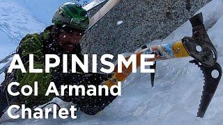 Goulotte Vivagel Col Armand Charlet Chamonix Mont-Blanc montagne alpinisme