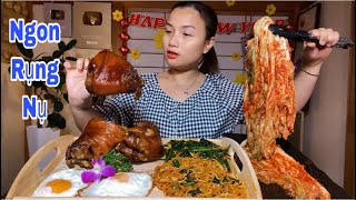 Ngon Rụng Nụ Với Set Mì Cay,Kim Chi,Trứng&Giò Heo Hầm #475