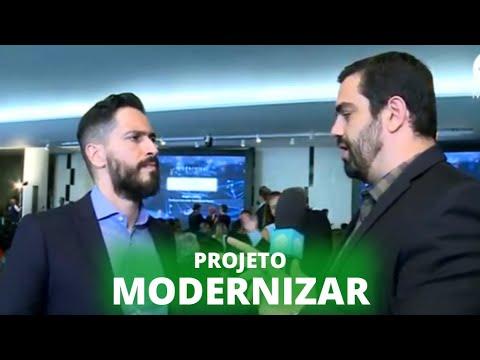 Palestra de Yuval Harari no lançamento do projeto Modernizar