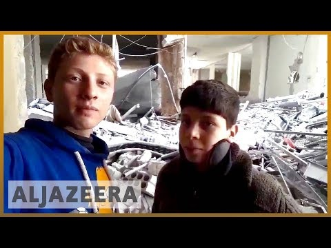 🇸🇾 Syria's children reach out for help on social media | Al Jazeera English