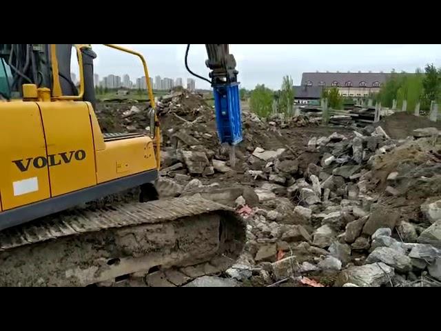 Відео 1 Гідромолот NKB 150