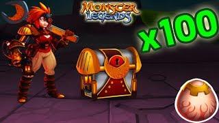 🔴Monster Legends - OPEN CHEST ARTIFACT !! *New* + PVP😱