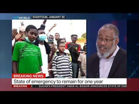 Sudan president declares state of emergency