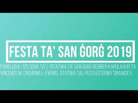 Festa San Ġorġ 2019 (Carmelo Cremona)