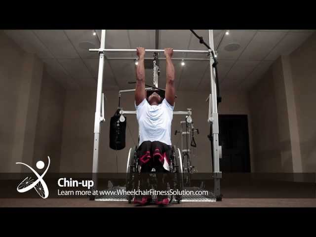 Wheelchair Fitness Solution | Exercise: Chin up (5 of 40)