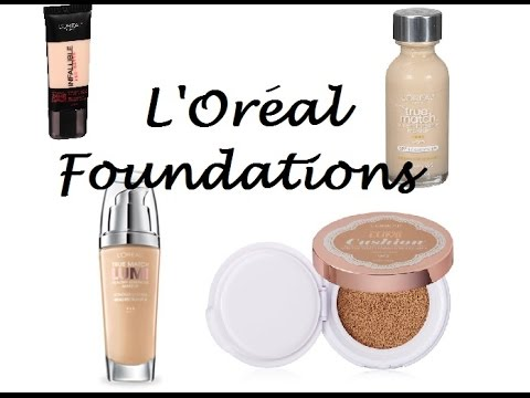 L'Oreal Foundations Reviews | Cushion, True Match, True Match Lumi, & Infallible
