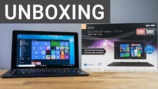 TrekStor SurfTab Twin 11.6 Volks-Tablet im Unboxing | Deutsch