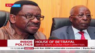 HOUSE OF BETRAYAL: Was ODM party right to de-whip Senator Ole Kina?  INSIDE POLITICS WITH BEN KITILI
