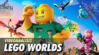 Lego Worlds para Nintendo Switch - Análisis / Review en español