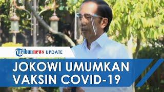 Presiden Jokowi Umumkan Vaksin Covid-19 akan Disuntikkan ke 180 Juta Orang, Ini Jadwal Distribusinya