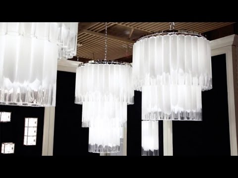 Video for Tyrell Polished Nickel 16-Light Pendant