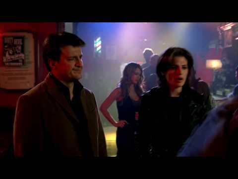 Касл драка в баре