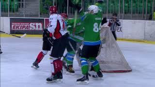 Člani AHL 8.3.2018 HK SŽ Olimpija – HDD Acroni Jesenice 2:3 (OT), video povzetek tekme
