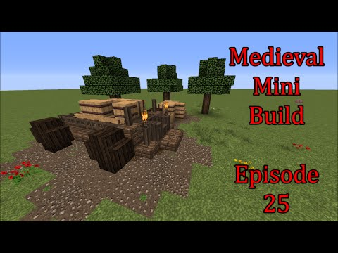 Medieval Mini Build Goods Cart