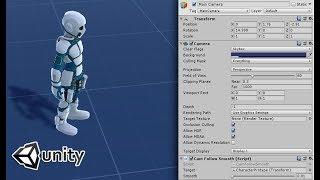Comment créer facilement une camèra qui suit le personnage à la troisième personne dans UNITY3D