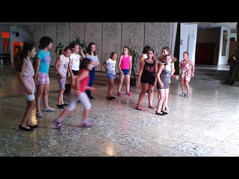 2017-es tánctábor - Haladó zumba turnus: Dynamite koreográfia