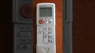 How to change Fahrenheit to Celsius Panasonic remote control