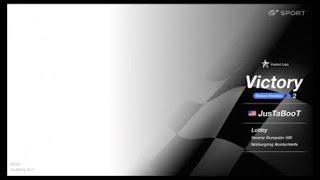 Nurburgring close racing. Mustang vs  Porsche USA vs Germany  Gran Turismo®SPORT_20180704195140