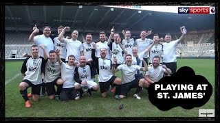 We play at St James' Park & win!