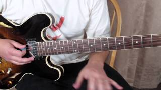 "How to Play Grateful Dead ""Deal"" Jerry Garcia and Marty Schwartz Guitar Lessons blues jam"