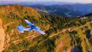 Swiss FPV Mountain Formation Flying - Binary