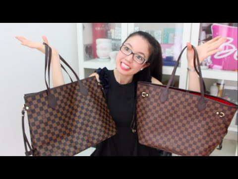 Louis Vuitton Neverfull MM (Replica vs Authentic) | rosellalee