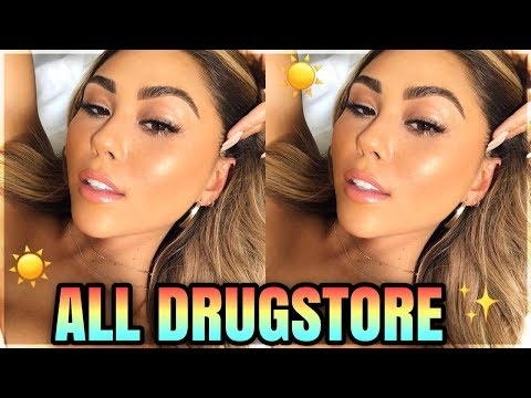 drugstore sunkissed skin summer makeup look + faux freckles   roxette arisa