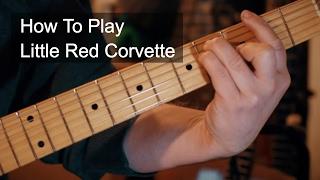 Little Red Corvette Chords Prince Guitar Tutorial