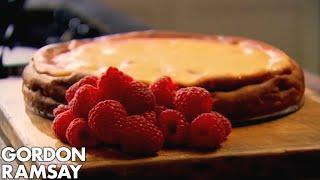 Baked Raspberry and Lemon Cheesecake - Gordon Ramsay
