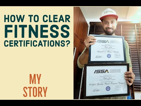 How to clear fitness certifications In India? 20 Hours!