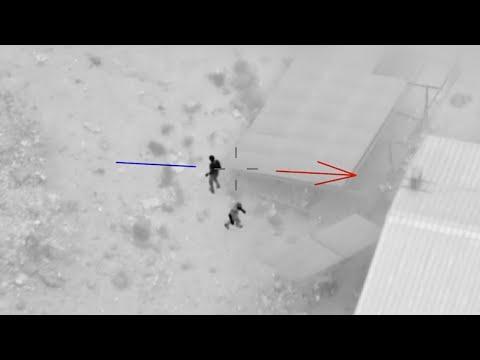 לאחר שעתיים: תיעוד מרדף שודדי בסיס צבאי ממעוף המסוק