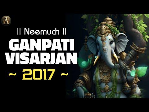 Neemuch Ganpati Visarjan 2017 Aryansh Parivar and loins Park Ganpati   Anivesh Maurya