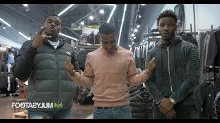 Shopping with: Lotto Boyzz and Yung Filly | Footasylum x Link Up TV - dooclip.me