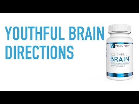 Youthful Brain – How should I take Youthful Brain? | Royce PS