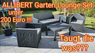 """Gartenlounge-Set """"MERANO"""" von """"Allibert by Keter"""" unter 200 Euro - taugt das was???"""