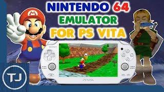PS Vita 3.65 Nintendo 64 Emulator! (Daedalus) VHBL! 2017!