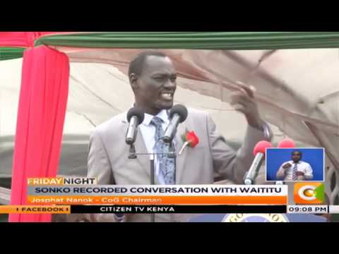 Mike Sonko: This is unacceptable and unethical-Mike Sonko told[video]