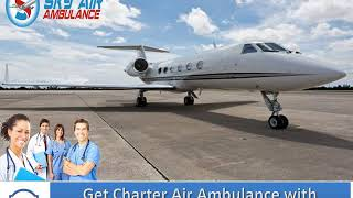 Avail Best Medical Support in Commercial Air Ambulance from Bangalore