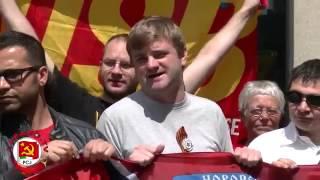 Митинг в Брюсселе в поддержку Новороссии, новости ополчения Новороссии