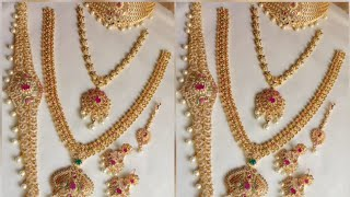 Bridal Jewelry  Set With Prices/ PMJ JEWELRY DIRECT  With Contact Details