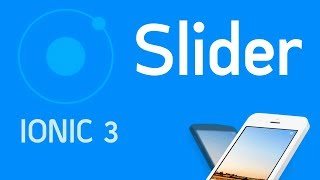 Ionic 3 Tutorial #13 Slider