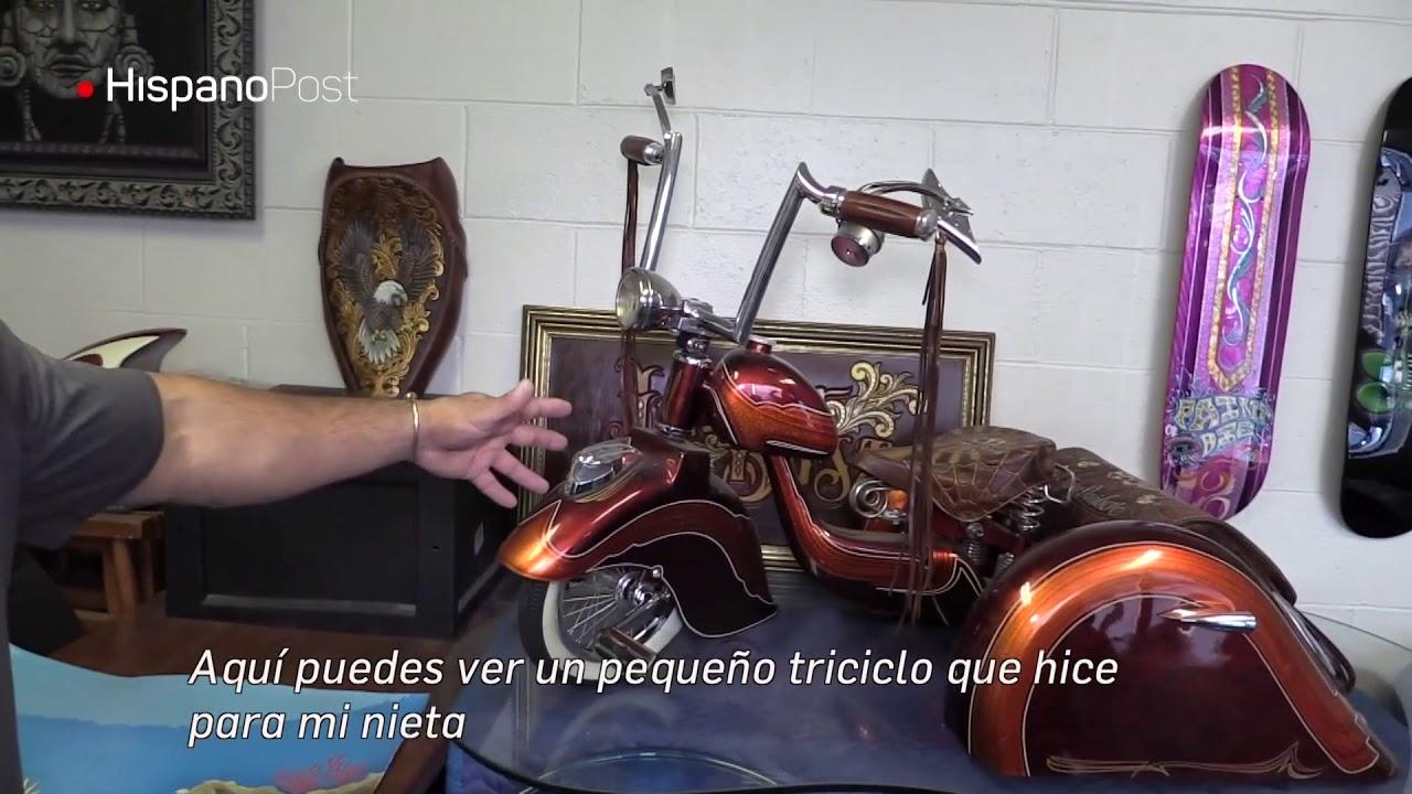El arte carcelario transformó la vida de Juan González