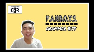 #FANBOYS or Coordinating Conjunctions
