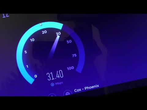 Cox Gigablast Internet Speed Test and Installation