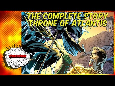 Throne of Atlantis (Justice League) - Complete Story | Comicstorian