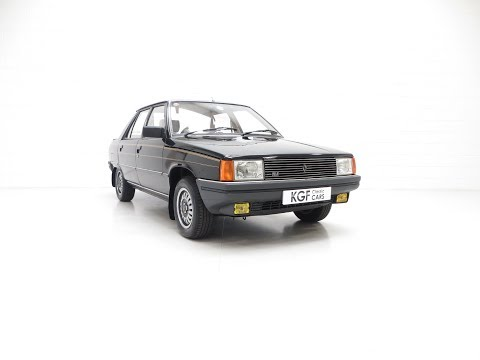 A Magnifique Phase 1 Renault 9 TLE With An Incredible 8,844 Miles From New - SOLD!
